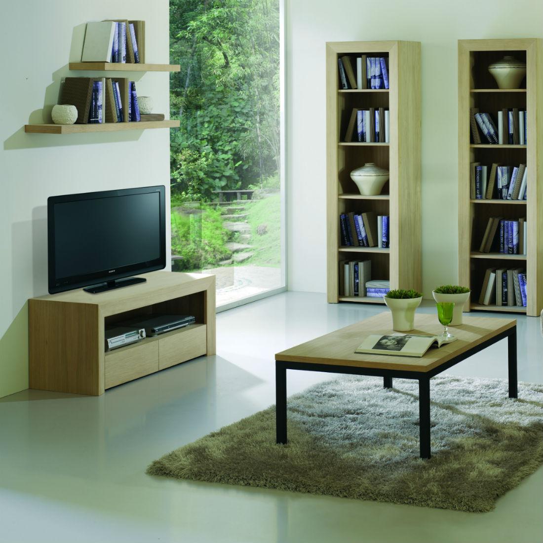 Meuble TV Design En Bois Brin DOuest