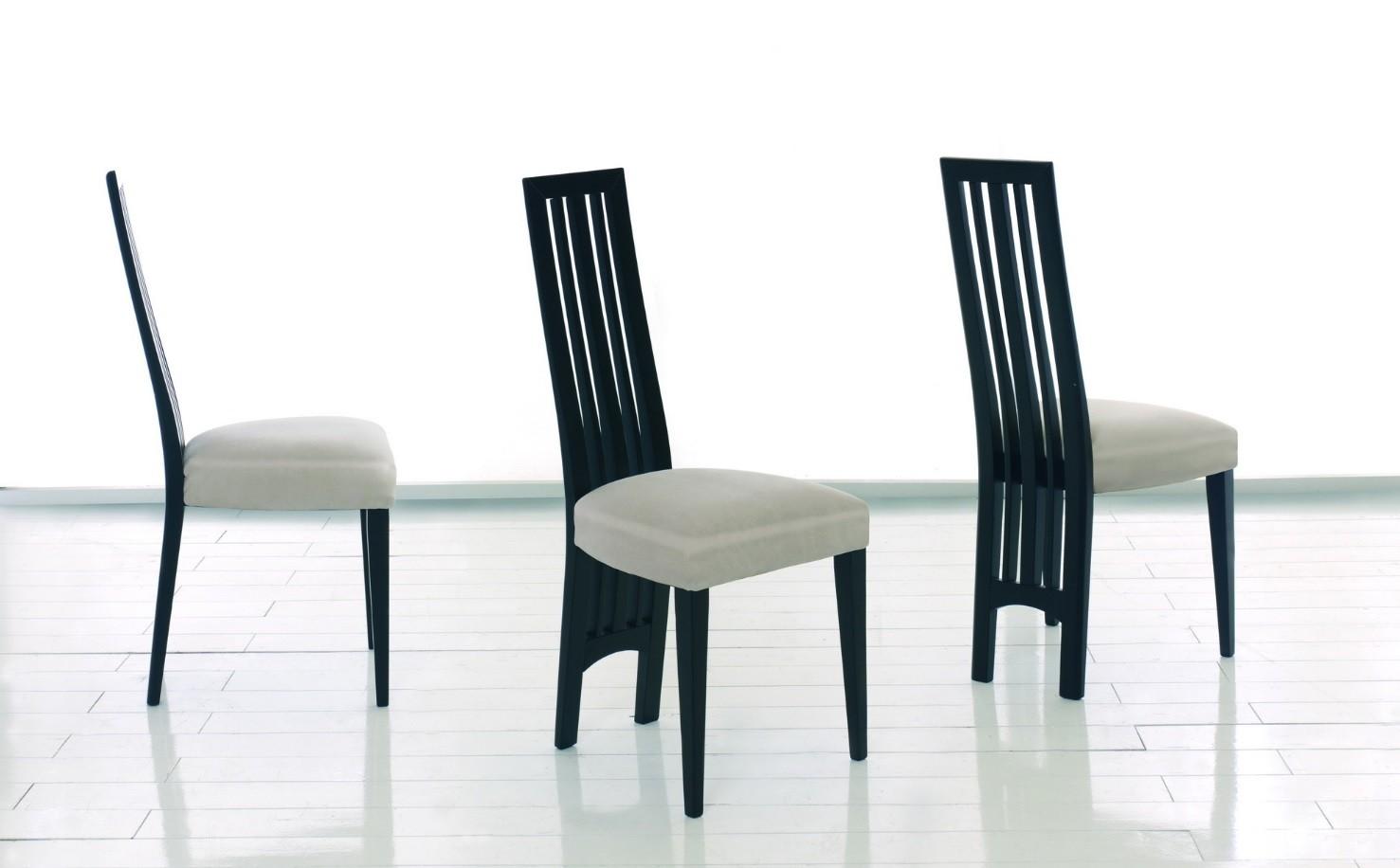 chaises de repas contemporaines en bois