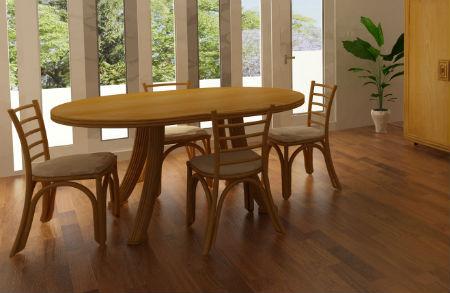 table en rotin meubles rotin tables