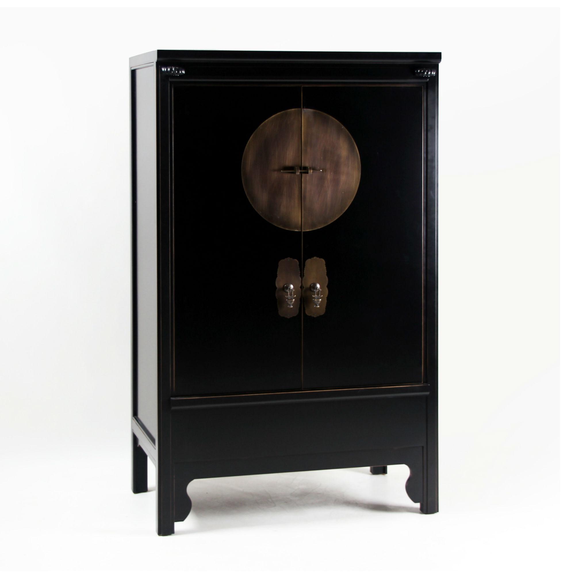 Armoire Chinoise Noire Maison Design