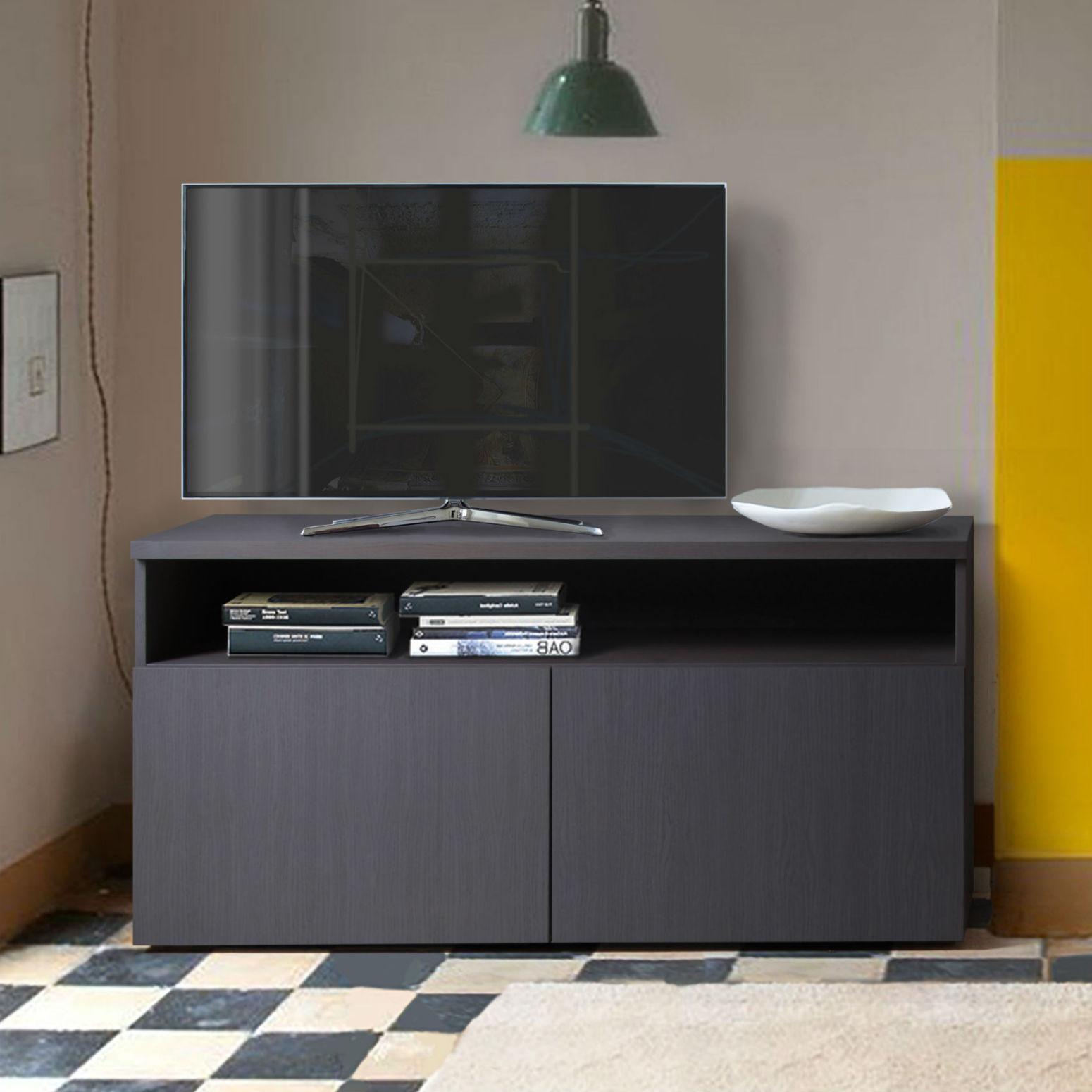 Meuble Tv Avec Rangement Design Brin DOuest