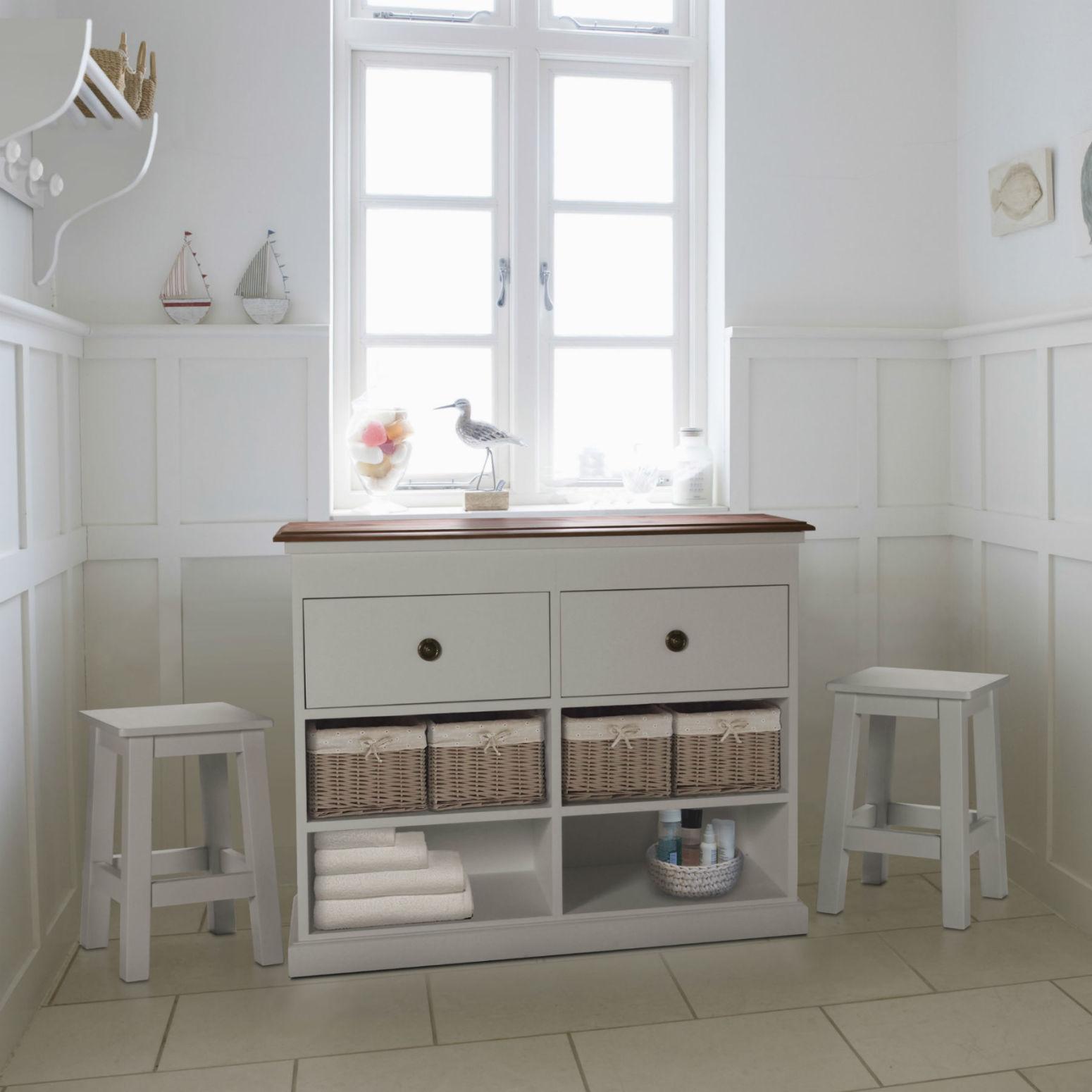meuble de rangement pour le linge en pin