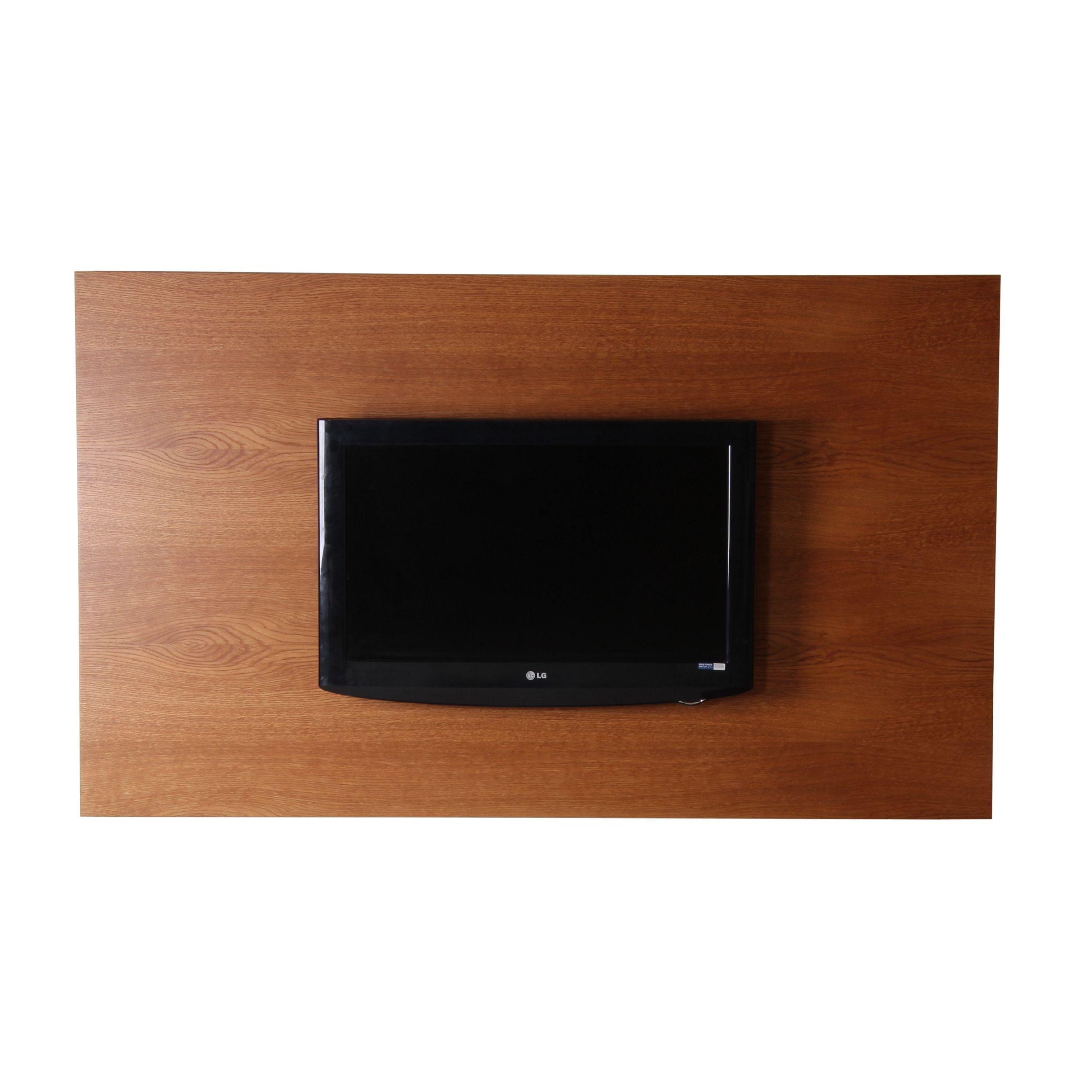 panneau tv mural bois 170 cm x 100 cm brin d ouest