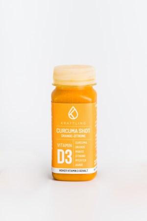 Curcumashot Orange Zitrone Kraftling Produktbild 1