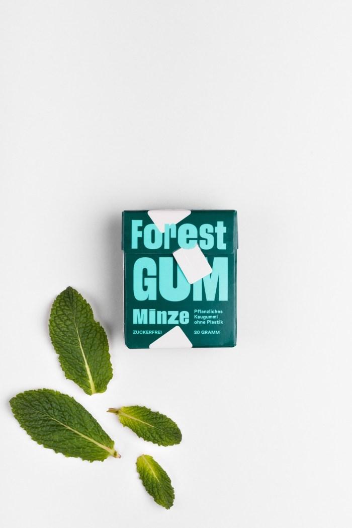 Forest Gum Kaugummis - Minze Forrest Gum Produktbild 1