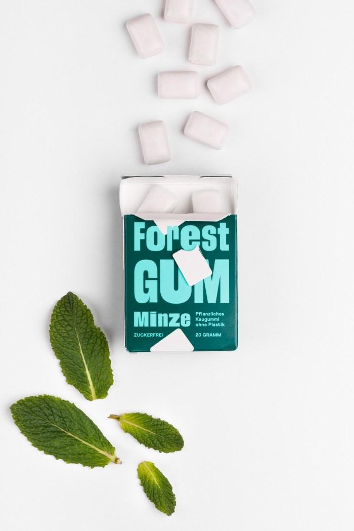 Forest Gum Kaugummis - Minze Forrest Gum Produktbild 2