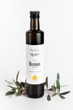 Olivenöl - Nativ Extra Vita Verde Produktbild 1