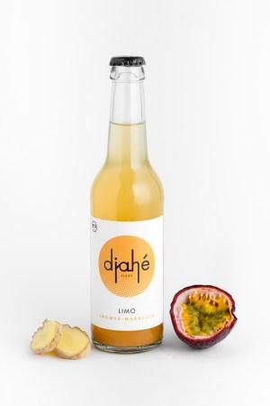 Ingwer Maracuja Limonade Djahé Produktbild 1