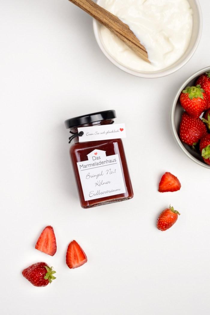 Erdbeermarmelade Das Marmeladenhaus Produktbild 1
