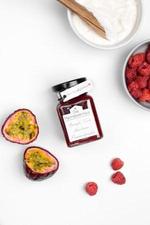 Himbeere Passionsfrucht Das Marmeladenhaus Produktbild 1
