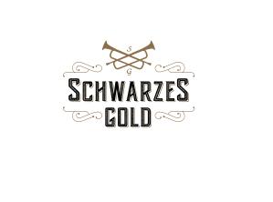 schwarzes gold logo