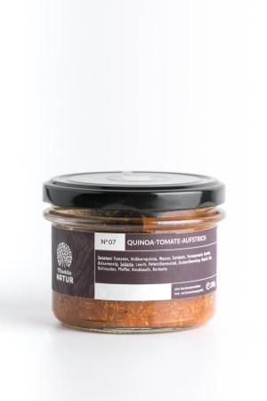 Quinoa-Tomaten-Aufstrich Mudda Natur Produktbild 1