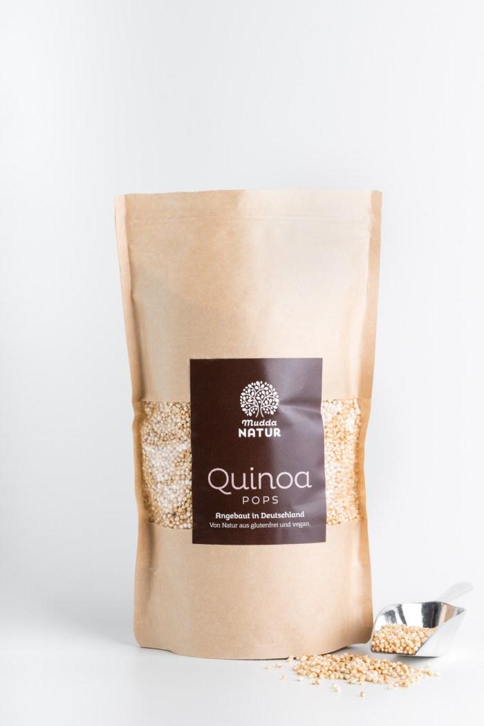 Quinoa Pops Mudda Natur Produktbild 2