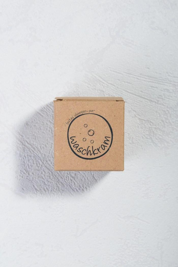 Natürlich festes Shampoo für empfindliche Haut Waschkram Produktbild 1