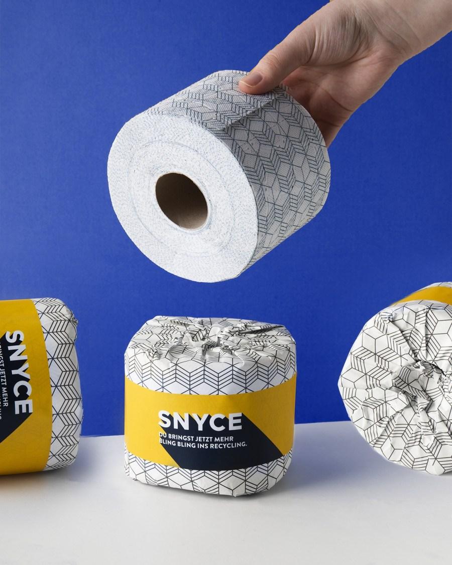 Nachhaltiges Toilettenpapier Snyce Produktbild 1