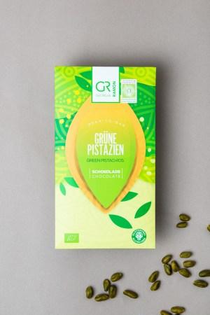 Weiße Schokolade mit Pistazie Georgia Ramon Produktbild 1