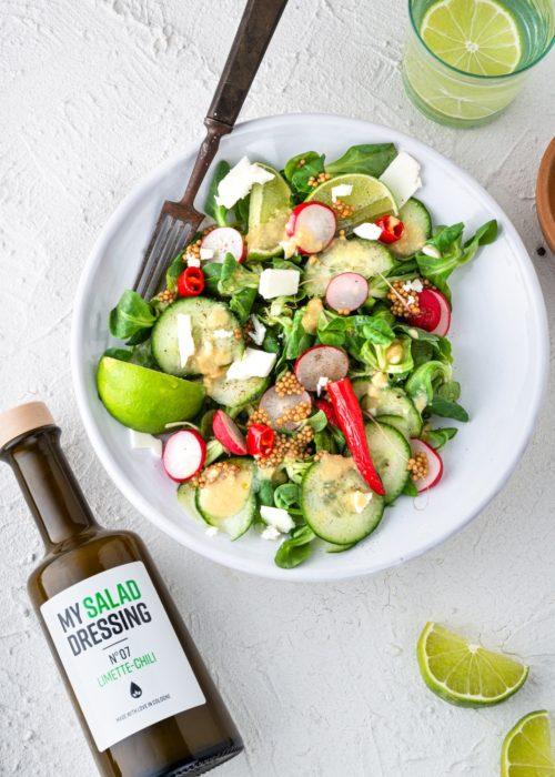 Spicy Lime Salat Rezept