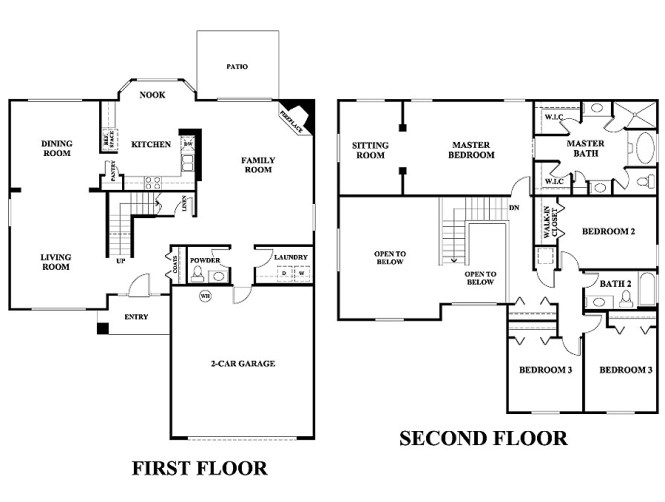 2 Story 5 Bedroom House Plans Amazing House Plans
