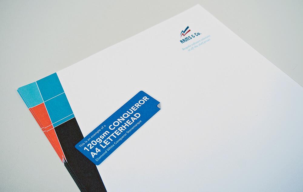 Custom Printed Business Letterhead 120gsm