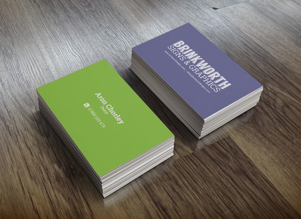 Business card printing aberdeen image collections card design and business card printer business cards brinkworth signs graphics get a business card quote today reheart image reheart