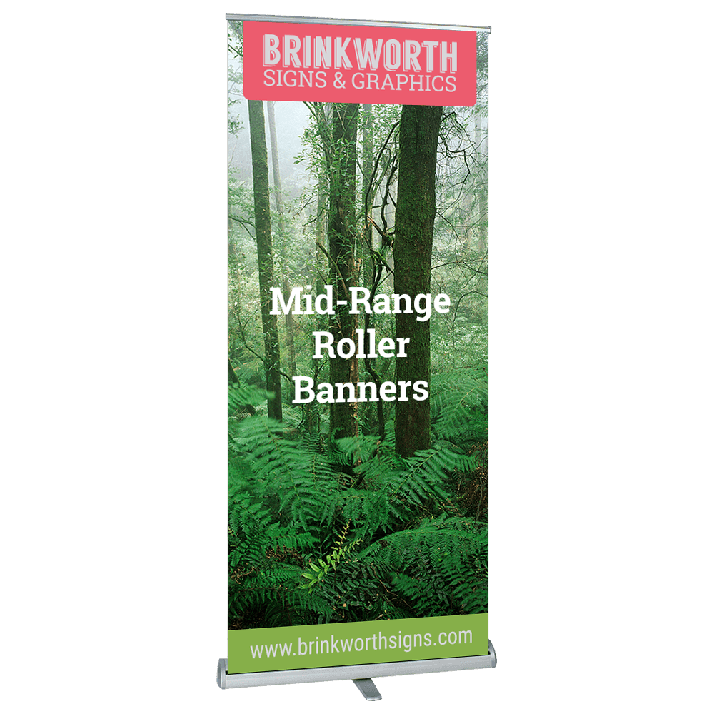 Mid-Range Roller Banners