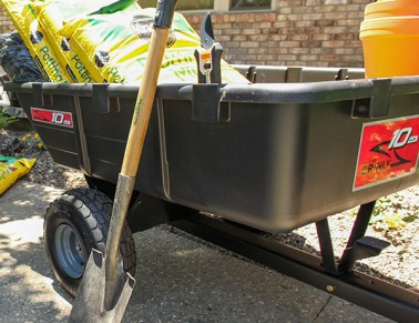 brinly dump cart - 9 Tips to Help Plant Trees and Shrubs in the Fall