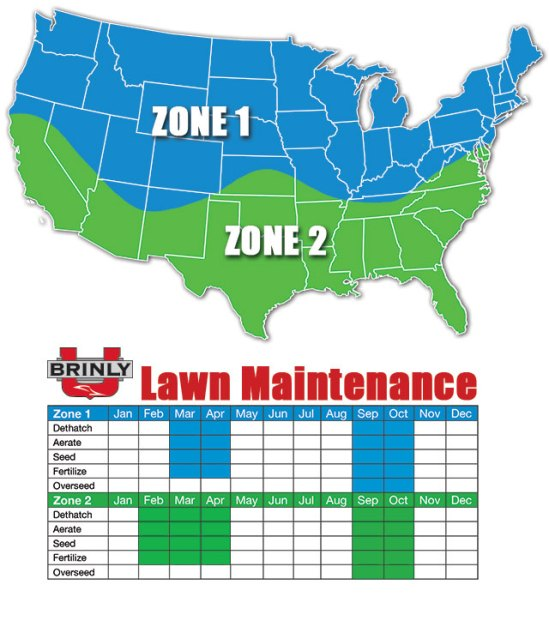 seasonal lawn care map - 10 Fall Yard Cleanup Chores To Do Before the Ground Freezes