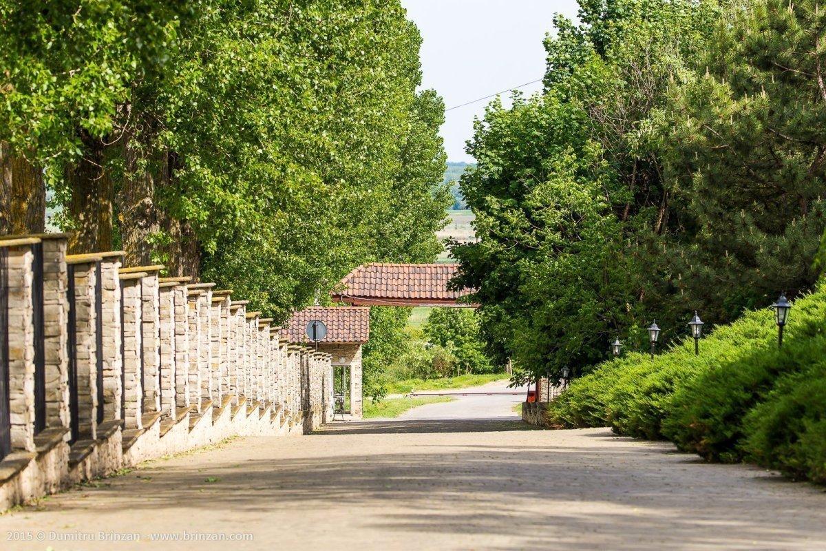 Purcari Estate - Entrance