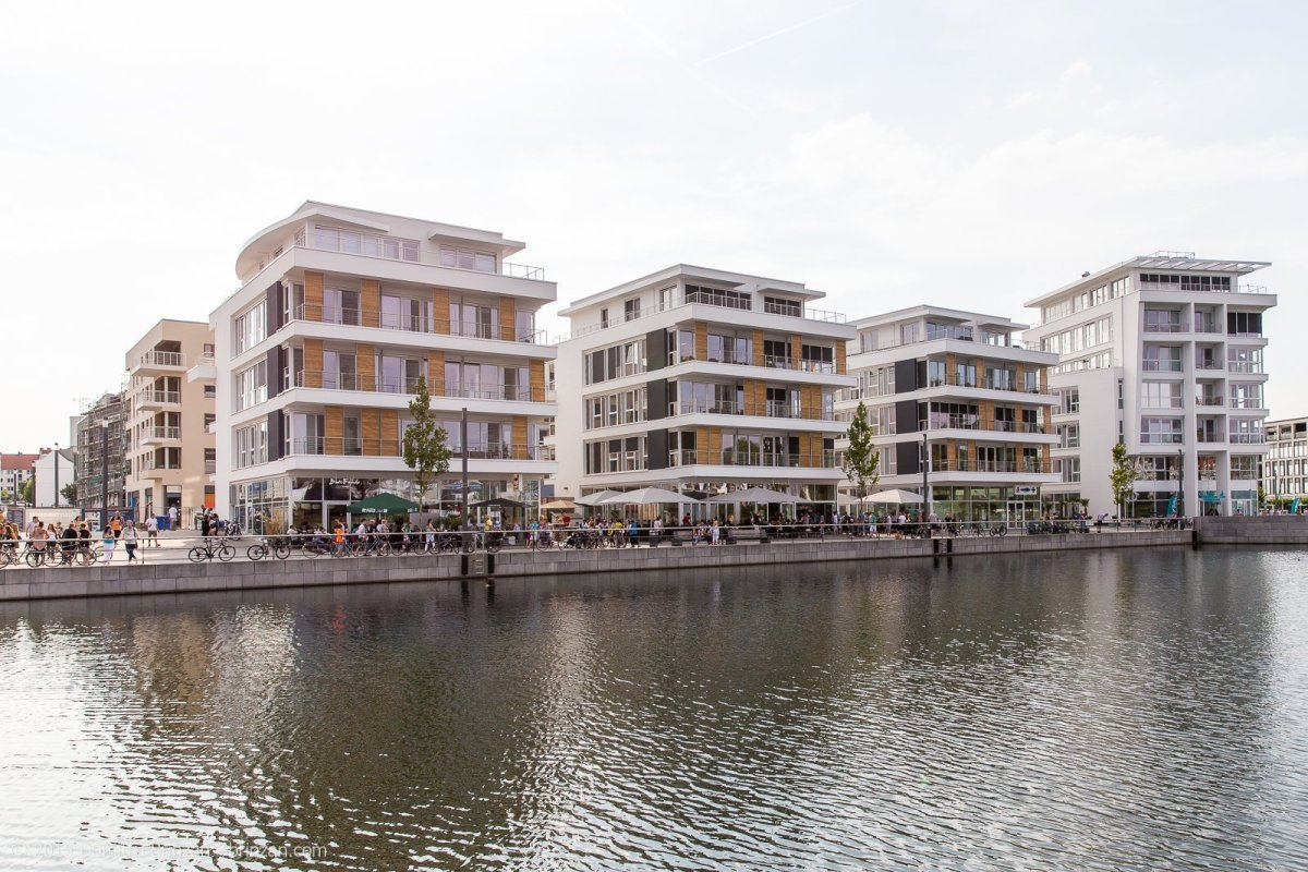 Phoenix see in dortmund germany august 2015 for Apartment complex for rent