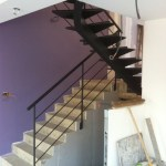 Escaliers et rampes d'escalier