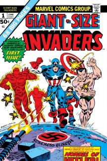 Giant-Sized Invaders #1 (1975) Bill Everett & Frank Robbins