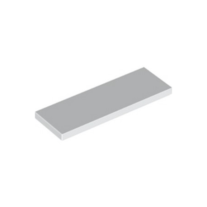 lego 6332042 tile 2x6 white