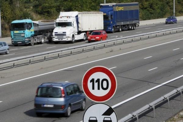 Autoroutes doit-on passer à 110 km par h définitivement et partout