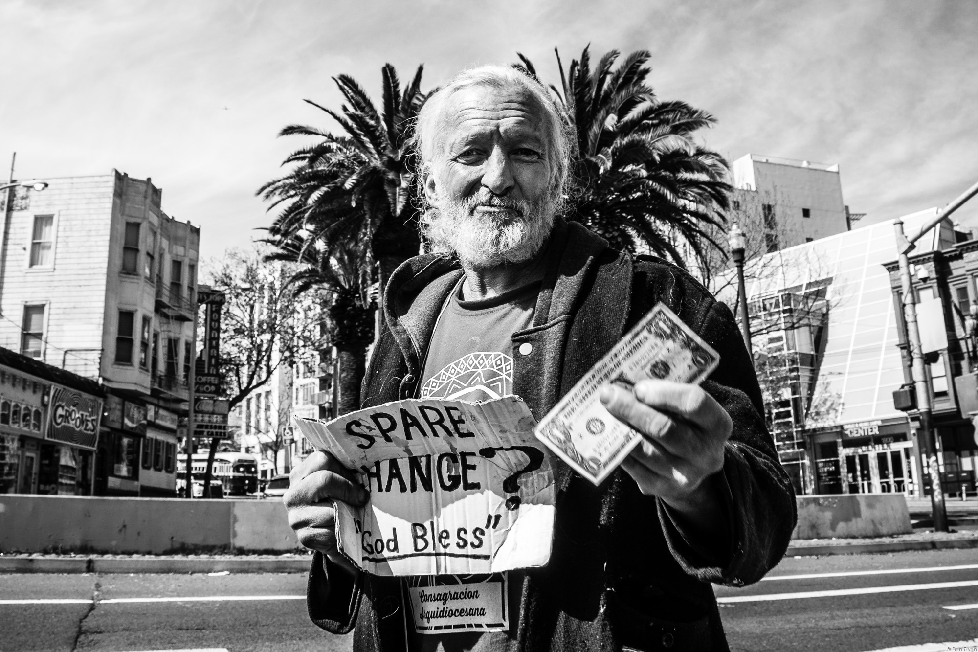Homeless man San Francisco