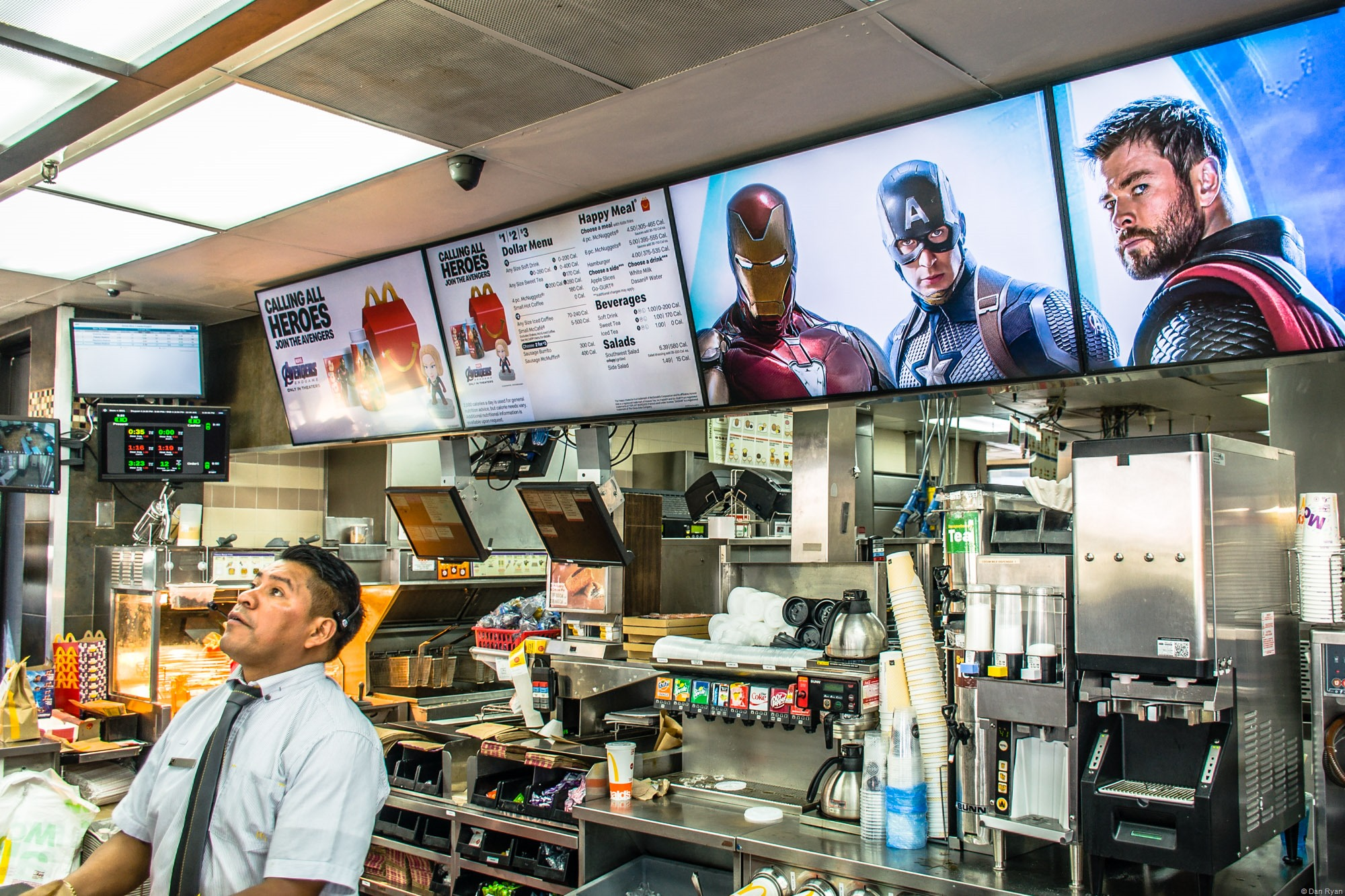 Avengers: Endgame McDonald's