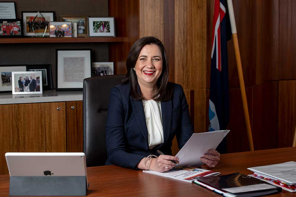 MESSAGE FROM THE PREMIER OF QUEENSLAND