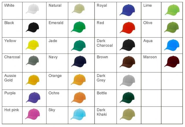 adult-cap-colours