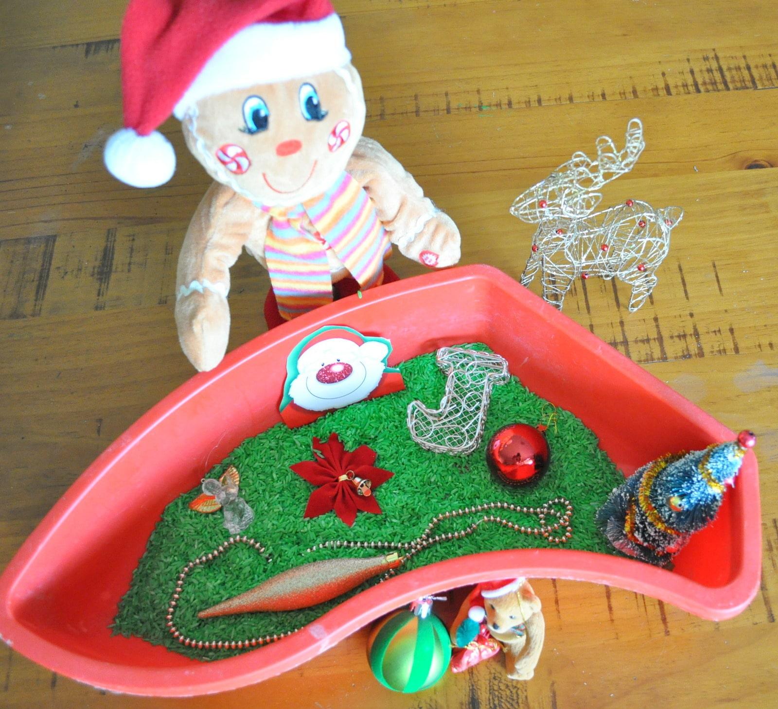 Sensory Christmas Activity For Kids