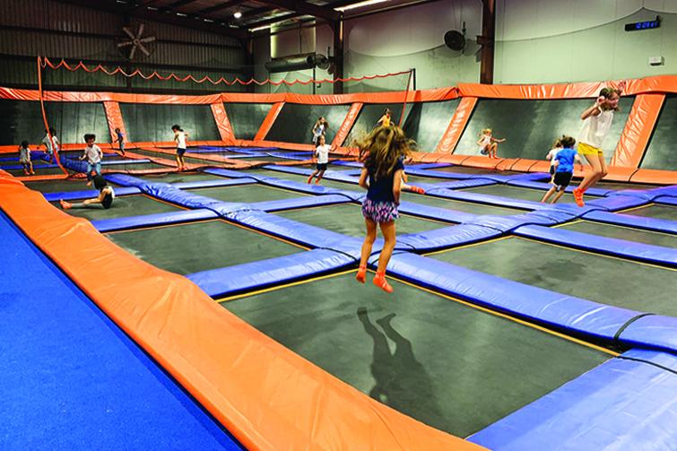 sky zone kids party review brisbane kids
