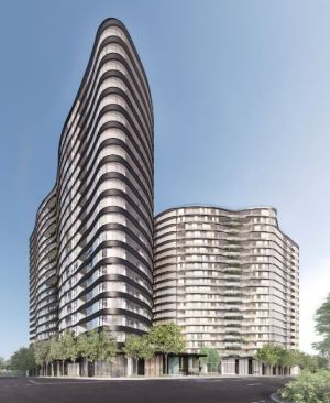 A 20-storey tower will rise from the site of a 2013 fire at Albion.