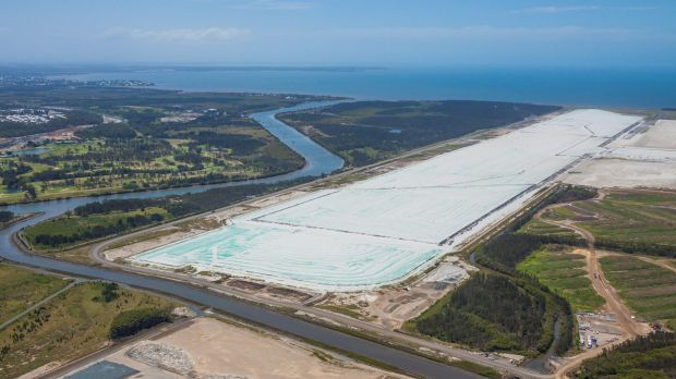 11 million cubic metres of sand is about to become transformed in Brisbane's new Parallel Runway at Brisbane Airport.