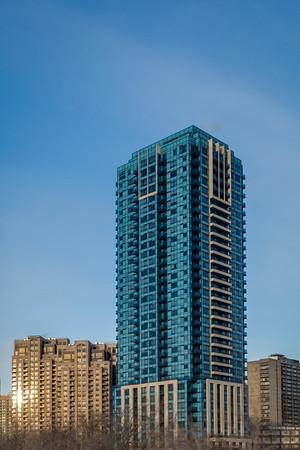 Architecture in Blue