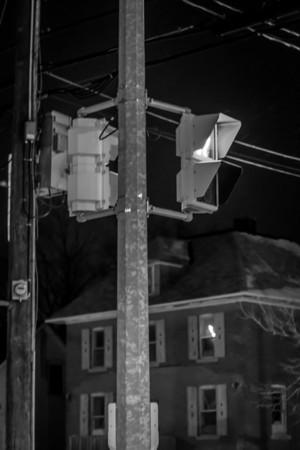 Crossing at Night