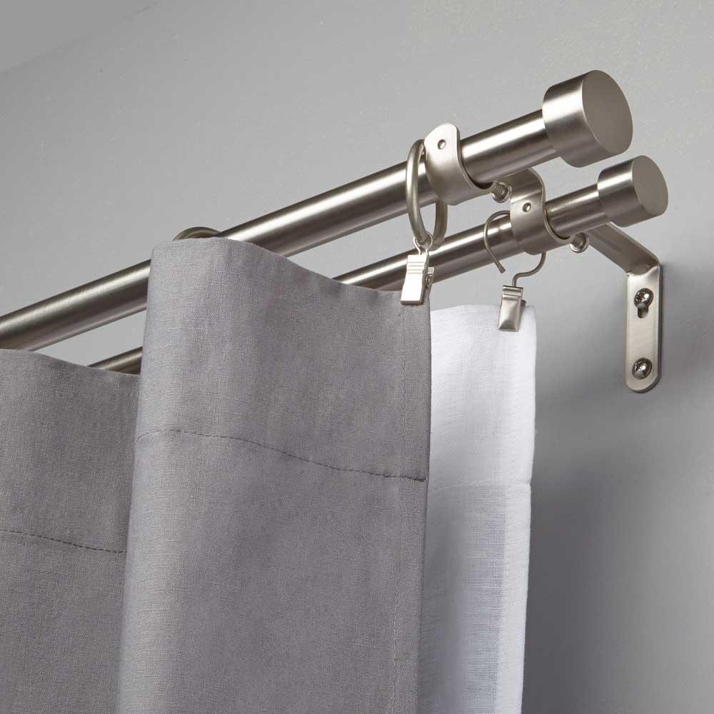 umbra cappa double curtain rod