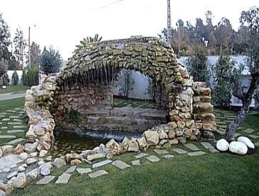 brispedra exemplos decorativos jardim cascata