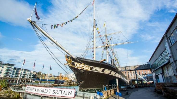 Behind the scenes at the ss Great Britain
