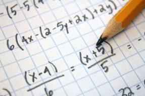 Maths pencil