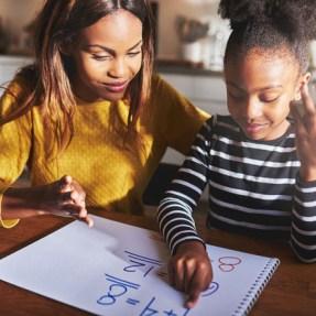 home school parent child maths