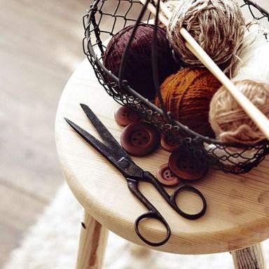knittign basket