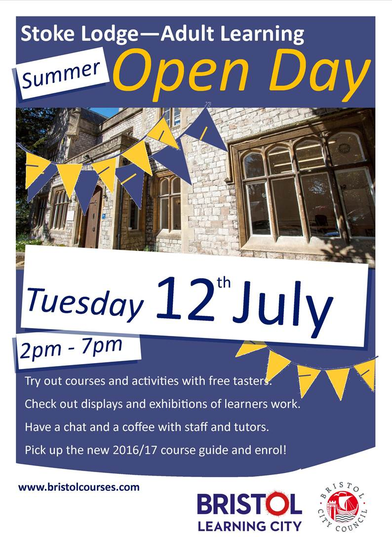 Open Day Leaflet